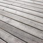 Drewniane deski sopockiego molo.